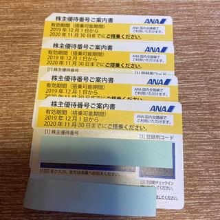 ANA株主優待券  No.2