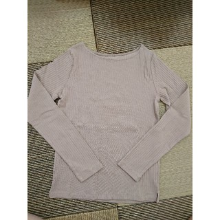 オペークドットクリップ(OPAQUE.CLIP)のボートネックリブ長袖Tシャツ(カットソー(長袖/七分))