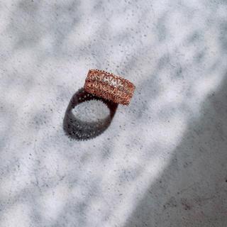 エンフォルド(ENFOLD)の18k コーティング高品質 リング♡💍(リング(指輪))