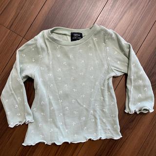 プティマイン(petit main)のpetit main長袖Tシャツ(Tシャツ)