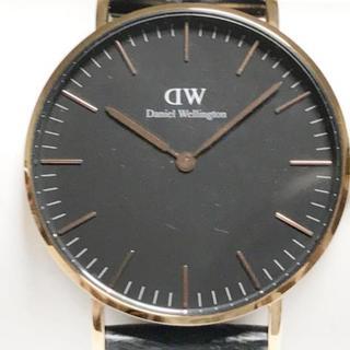 ダニエルウェリントン(Daniel Wellington)のダニエルウェリントン 腕時計 - B36R15 黒(その他)