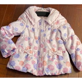 anyFAM - anyFAM KIDS  エニィファム 中綿コート 花柄 新品タグなし 130