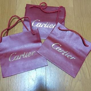 カルティエ(Cartier)のカルティエ ショッパー3枚(ショップ袋)
