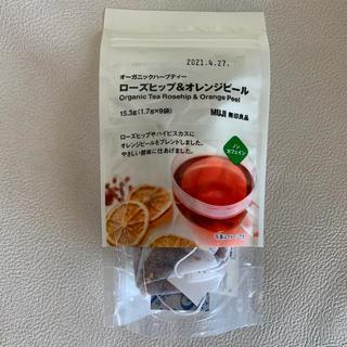 ムジルシリョウヒン(MUJI (無印良品))の無印良品/オーガニックハーブティー/ローズヒップ&オレンジピール/紅茶(茶)