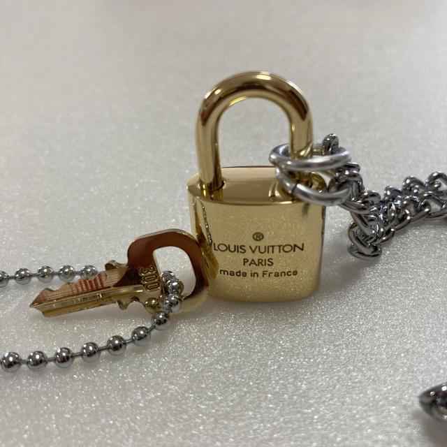 LOUIS VUITTON(ルイヴィトン)のLOUISVUITTON パドロック カデナ 南京錠 鍵有り  300 メンズのアクセサリー(ネックレス)の商品写真