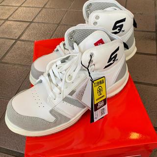 スナップオン安全靴25.5cm未使用、限定白