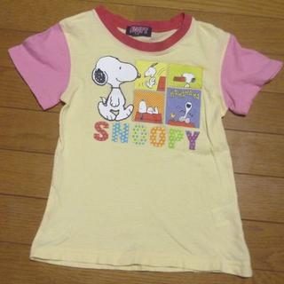 SNOOPY - ピーナッツ スヌーピーのTシャツ サイズ110 <c451>