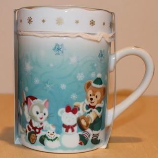 ダッフィーのクリスマス マグカップ ミニトレー付き