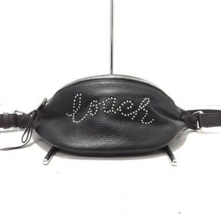 COACH - コーチ ウエストポーチ美品  - F88875 黒
