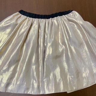 ボンポワン(Bonpoint)の♡Bonpoint♡ボンポワン スカート ゴールド(スカート)