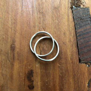 シルバー スキニーリング(リング(指輪))