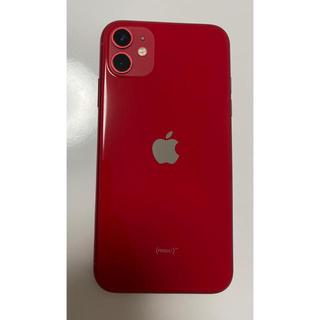iPhone - iphone11 128G レッド simフリー