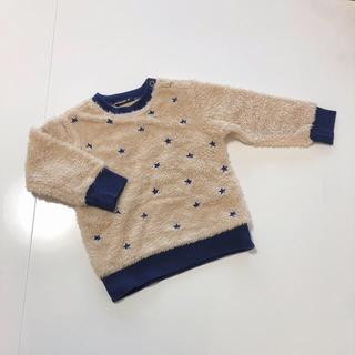 mou jon jon - モコモコ ファー スウェット ニット セーター