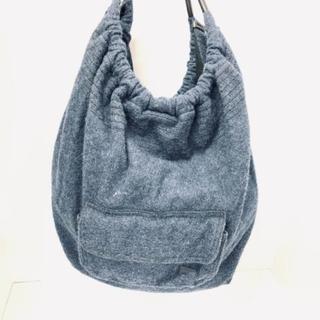 カンペール(CAMPER)のカンペール トートバッグ美品  ブルー×黒(トートバッグ)