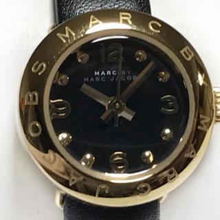 マークバイマークジェイコブス(MARC BY MARC JACOBS)のマークジェイコブス 腕時計 MBM1254 黒(腕時計)