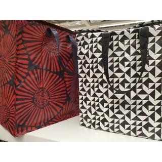 イケア(IKEA)の秋の最新お得イケア新商品☆クナラ収納2枚セット♪IKEA  エコバッグ収納バッグ(ケース/ボックス)