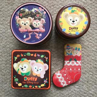 ダッフィー - ダッフィー シェリーメイ 空き缶 セット まとめ売り ディズニー 処分