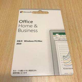 マイクロソフト(Microsoft)のOffice Home Business 2019(PCパーツ)