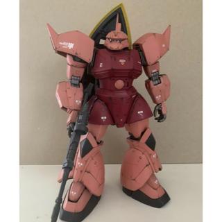 BANDAI - シャア専用ゲルググ 塗装完成品 MG 1/100