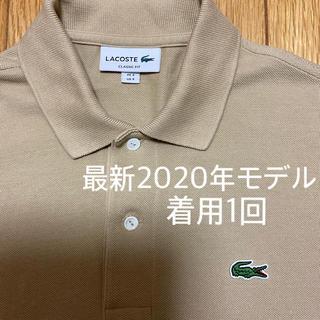 LACOSTE - 【最新モデル】着用1回 極美品 ラコステ ポロシャツ L1212 ベージュ 3