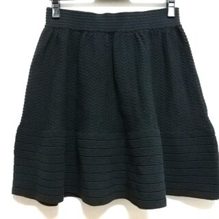 グレースコンチネンタル(GRACE CONTINENTAL)のダイアグラム ミニスカート サイズ36 S -(ミニスカート)