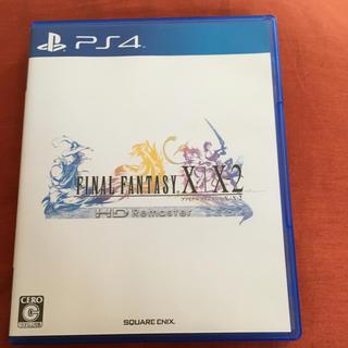 PlayStation4 - FF ファイナルファンタジーX/X-2 HDリマスター PS4 ソフト カセット