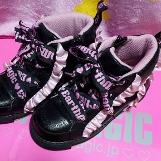 EARTHMAGIC - スニーカー&ブーツ 2点セット♡ 19cm
