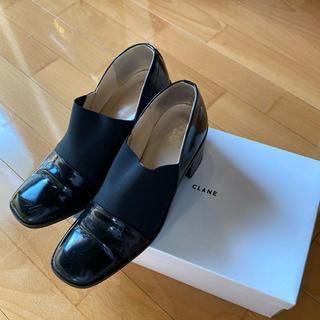 エンフォルド(ENFOLD)のclane ワイドゴアシューズ(ローファー/革靴)