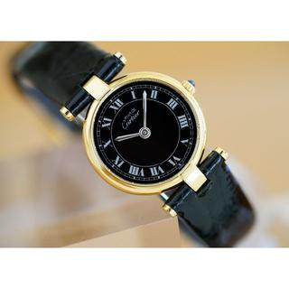 Cartier - 美品 カルティエ マスト ヴァンドーム ブラック ローマン SM Cartier