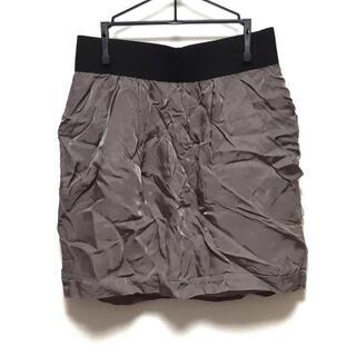グレースコンチネンタル(GRACE CONTINENTAL)のダイアグラム ミニスカート サイズ38 M(ミニスカート)