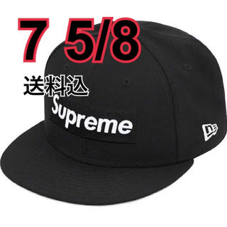 Supreme - 送料込 World Famous Box Logo New Era 7 5/8