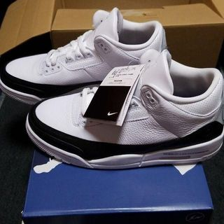 Fragment x Air Jordan 3 White DA3595-100(スニーカー)