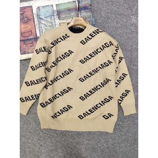 バレンシアガ(Balenciaga)のBalenciagaアルファベットのセーター(ニット/セーター)