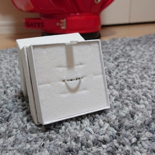 ジュエリーマキ(ジュエリーマキ)のジュエリーマキ K10 WG ダイヤモンド ピンキーリング(リング(指輪))