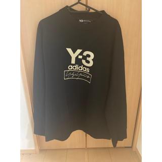 ワイスリー(Y-3)の★大人気★ Y-3 ロゴ スウェット トレーナー ブラック(スウェット)