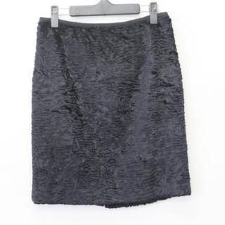 グレースコンチネンタル(GRACE CONTINENTAL)のダイアグラム スカート サイズ38 M美品  黒(その他)