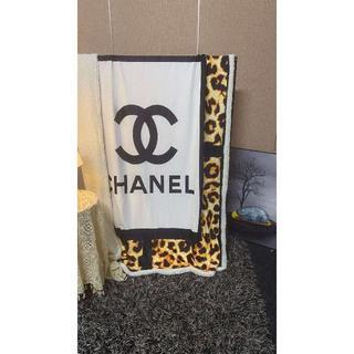 シャネル(CHANEL)のCHANEL毛布200cmX150cm(その他)