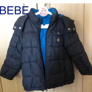ベベ(BeBe)のBEBE  中綿 アウター    リバーシブル 100  (コート)