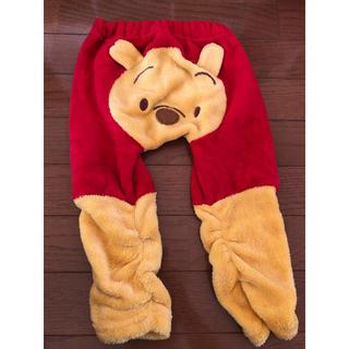 Disney - プーさん モコモコパンツ サイズ95 子供服