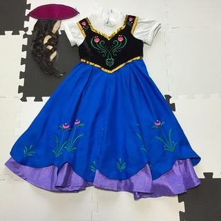 Disney - アナ ドレス 衣装 100