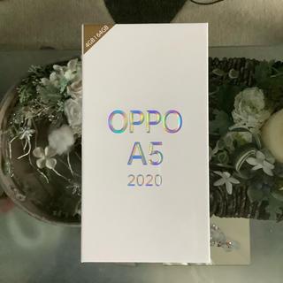 完全未開封 OPPO A5 2020 Green sim フリー