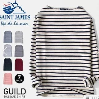 SAINT JAMES - saint james ボーダートップス