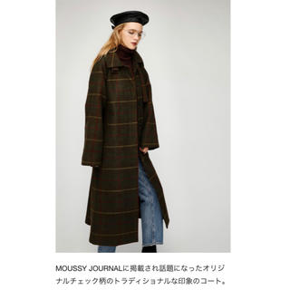 moussy - マウジーmoussy コートTHOMPSON LONG COAT 29900円