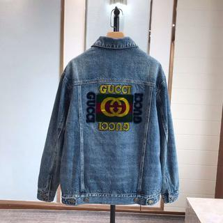 Gucci - ★GUCCI★パッチ付き オーバーサイズ デニム ジャケット