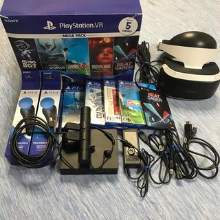 プレイステーションヴィーアール(PlayStation VR)のプレステVRメガパック(家庭用ゲーム機本体)