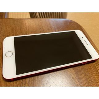 Apple - iPhone7plus Red 256GB ドコモ SIMロック解除済