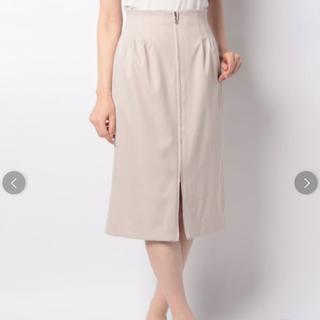 パターンフィオナ(PATTERN fiona)のフロントジッパータイトスカート(ひざ丈スカート)