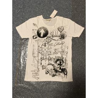 ハレ(HARE)の新品未使用 HARE ハレ スカルプリントTシャツ Mサイズ ホワイト(Tシャツ/カットソー(半袖/袖なし))