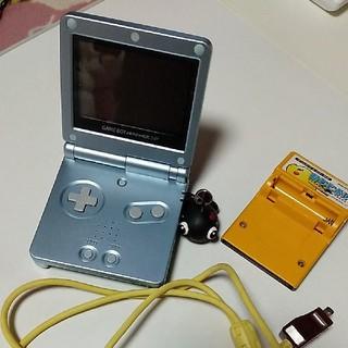 ゲームボーイアドバンス(ゲームボーイアドバンス)のゲームボーイアドバイスSP  セット(携帯用ゲーム機本体)