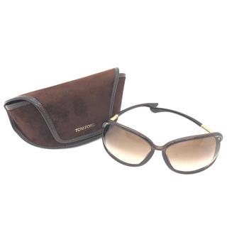 トムフォード(TOM FORD)のTOM FORDトムフォード サングラス ブラウン ケース付き 眼鏡 メガネ(サングラス/メガネ)